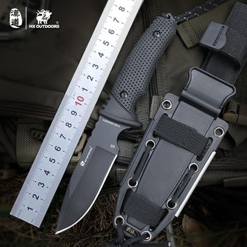 D2  Brand - Hunting/Tactical Fixed Blade Knife