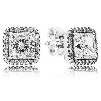 Authentic Pandora Jewelry - Timeless Elegance Stud Earrings