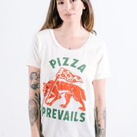 Pizza Prevails Dolman Tee