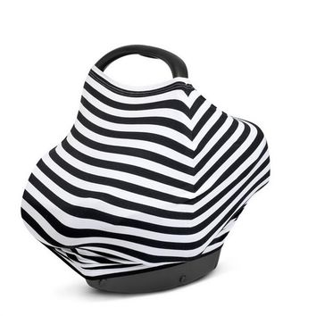 Baby Car Seat Canopy Nursing Breastfeeding Cover Scarf Shopping Cart Stroller Covers for Girls and Boys