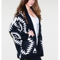Aztec Winter Cardigan Sweater