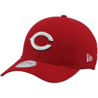 New Era Cincinnati Reds Garment-Washed 9TWENTY Adjustable Hat - Red