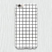 Grid Hard Mobile Cell Phone Case iPhone 3 3gs 4 4s 5 5s 5c 6 plus Samsung Galaxy s2 s3 s4 mini s5 mini Blackberry Z10 Curve Bold HTC