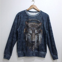 Lovely wolves fleece