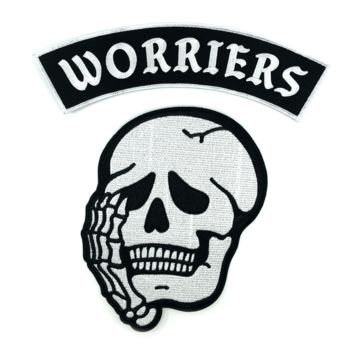 Worriers Anxiety Club - Back Patches