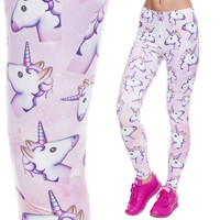 Deanfun 2017 New Plus Size Girls Digital Print Animal Floral Patterns leggings Women Legging