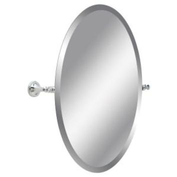 Delta Silverton 26 in. L x 24 in. W Wall Mirror in Polished Chrome 132892 at The Home Depot - Mobile