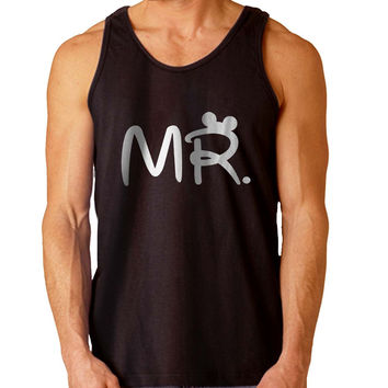 Mr Mrs disney Couple men For Mens Tank Top Fast Shipping For USA special christmas ***