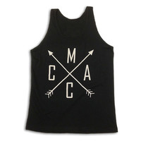 Men's Black Arrow Tank