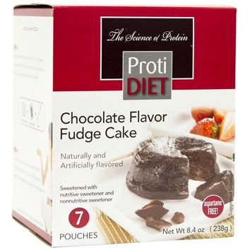 ProtiDiet Dessert - Chocolate Fudge Cake (7/Box)