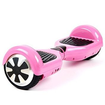 Self Balancing Scooter, Hoverboard, Driftboard, Electronic Scooter with LED Lights (pink) Manufactured by Biiofit (TM) Ltd