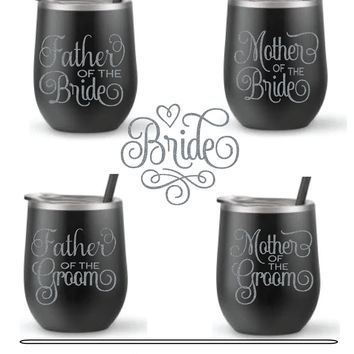 Wedding (Mother and Father) Graphic Decals