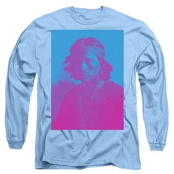 Portrait Of A Navajo Youth 4 - Long Sleeve T-Shirt