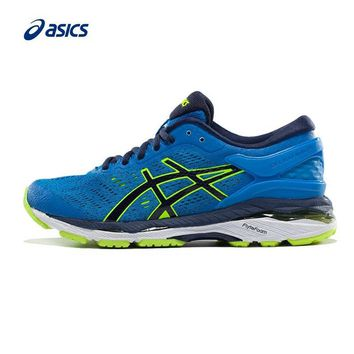 LMFON Original ASICS GEL-KAYANO 24 Unisex Teenager Stability Running Shoes Sports Shoes Sneakers free shipping
