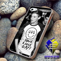 Louis Tomlinson one direction smiley For iPhone Case Samsung Galaxy Case Ipad Case Ipod Case