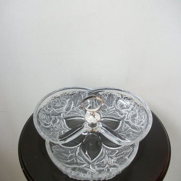 Cut Glass Candy Dish Gift Serving