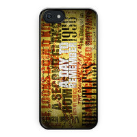 A Day To Remember Song iPhone 5/5S Case