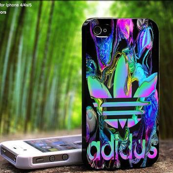 Adidas Water Color Reflection Design For iPhone 5 / 4 / 4S - Samsung Galaxy S3 / S4 (