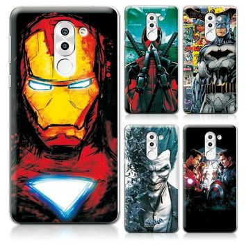 "Deadpool Dead pool Taco For Huawei Honor 6X 5.5"" Phone Case Cover Charming Marvel Avengers Captain America  For Huawei Honor 6X Fundas Capa AT_70_6"