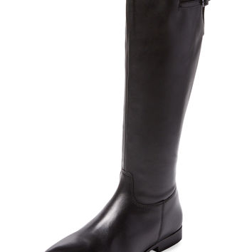 Seychelles Women's Swashbuckler Leather Riding Boot - Black -