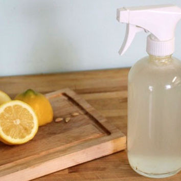 Homemade Organic Glass Cleaner