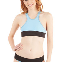 Beach Riot Pastel Racerback Beach Volleyball Swimsuit Top