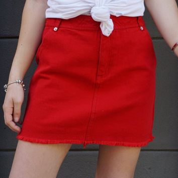 """Hot Stuff"" Skirt"