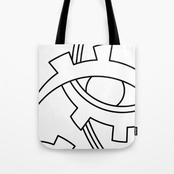 eye Tote Bag by Ia Po