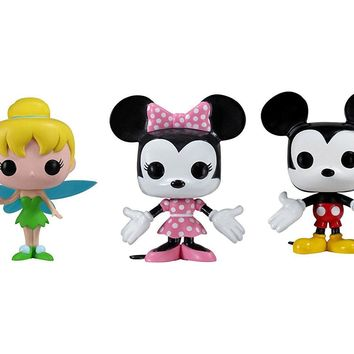 Funko Pop Disney Minnie & Mickey Mouse & Tinker Bell 2342.51.2476