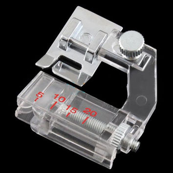 Domestic Sewing Machine Presser Foot Feet Kit Set With Box For Brother Singer Janom
