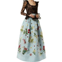 Andrew Gn Lace and Embroidered Gown | Harrods.com