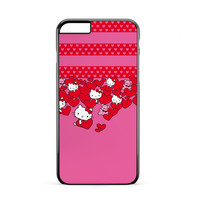 Hello Kitty Hearts iPhone 6 Plus Case