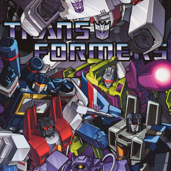 Transformers Classic Decepticons Poster 24x36
