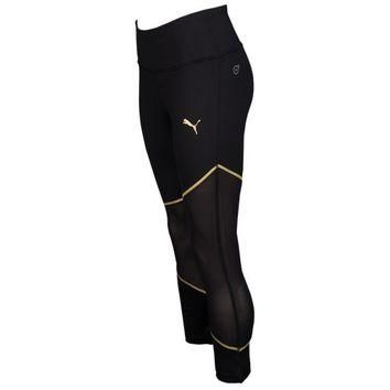 PUMA Clash 3/4 Mesh Tights - Women's at SIX:02