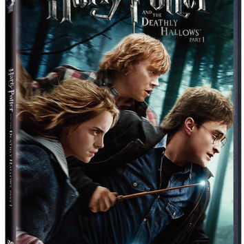 Harry Potter And The Deathly Hallows Part 1 2010 Movie Used DVD UPC883929139446