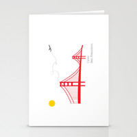 San Francisco.  Stationery Cards by Irmak Berktas