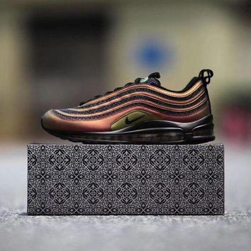 MDIGUX5 Nike Air Max 97 UL 17 Retro Skepta London x Marrakesh Sport Running Shoes