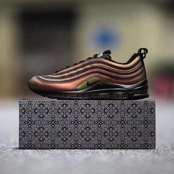 ICIKU62 Sale Nike Air Max 97 UL 17 Retro Skepta London x Marrakesh Sport Running Shoes