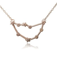 COS (TM) Zodiac Constellation Sign Symbol Pendant Necklace
