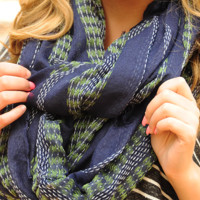 Night To Remember Scarf: Navy