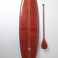 Limited-Edition Stand-Up Paddleboard, Kai Apo by Saffron James Brown One Size Gifts