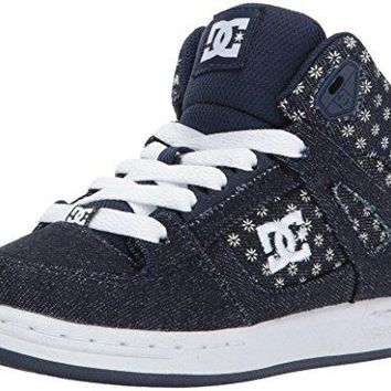 DC Rebound TX SE Skate Shoe (Little Kid/Big Kid)