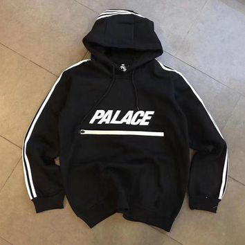 PALACE Woman Men Classic Fashion Hoodie Top Sweater Pullover