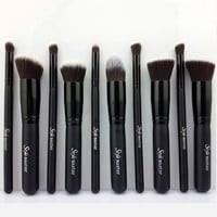 Amazon.com: Style master Premium Synthetic 10pcs Kabuki Make up Brush Set
