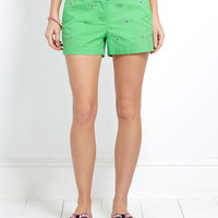 Womens Shorts: Embroidered Dayboat Shorts for Women – Vineyard Vines