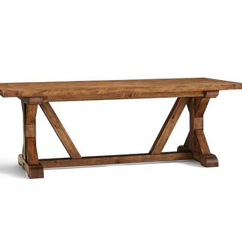WELLS EXTENDING DINING TABLE