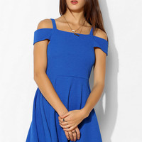 Silence + Noise Cold Shoulder Fit & Flare Dress - Urban Outfitters