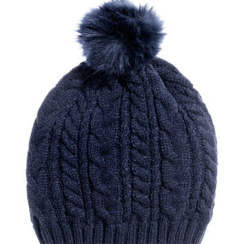 Cable-knit Hat - from H&M