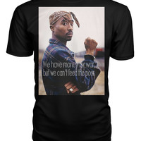 "Tupac ""Money for War"" T-Shirt"