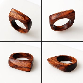 Tigerwood ring - Size 9 US, Wood ring, Wooden rings, Wood jewelry, Wood rings, Wooden ring, Statement ring, Eco ring, Wooden jewelry, Rings